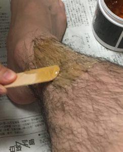 木ベラ ブラジリアンワックス